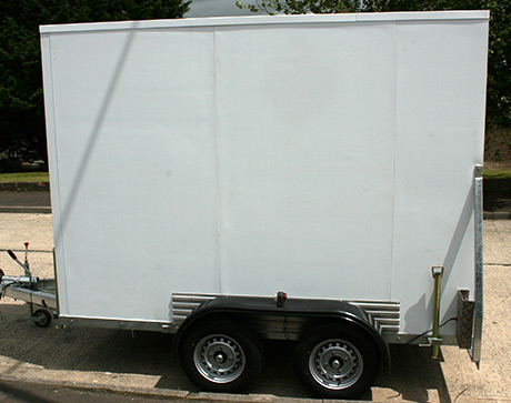 Cool Mover Refrigerated Trailer Side